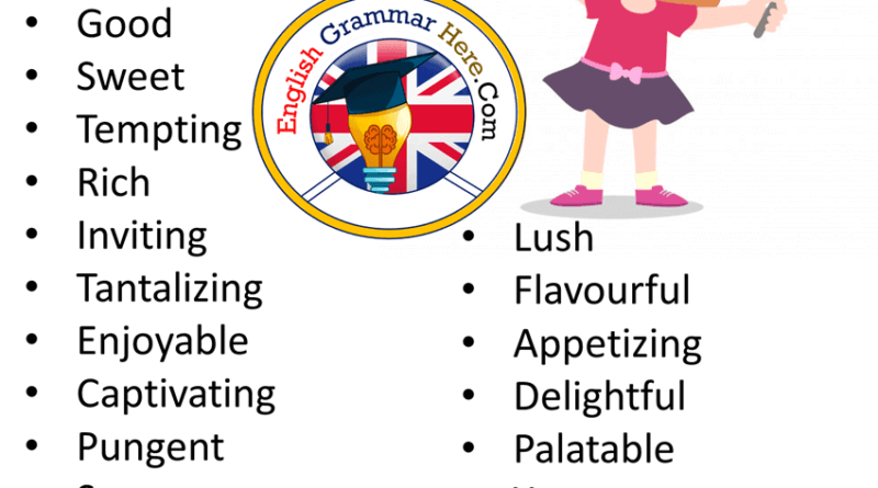 Different Ways to Say Delicious in English Vocabulary
