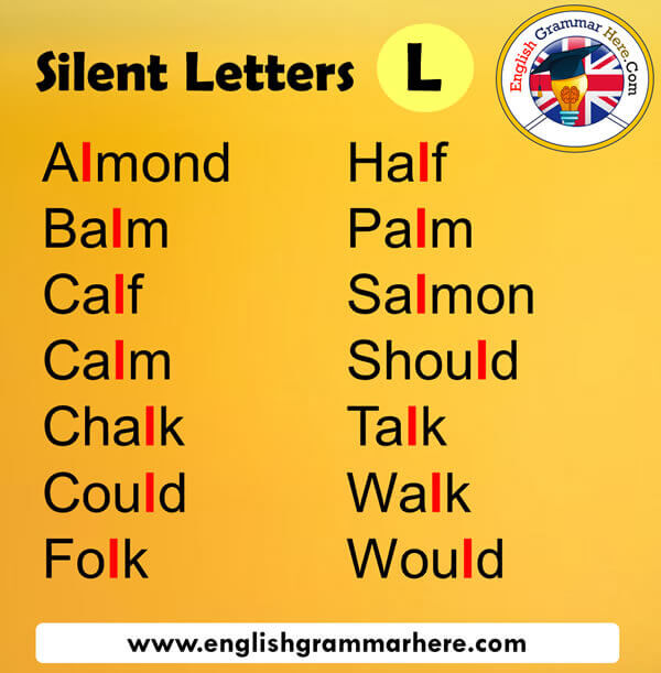 Silent Letters in English L