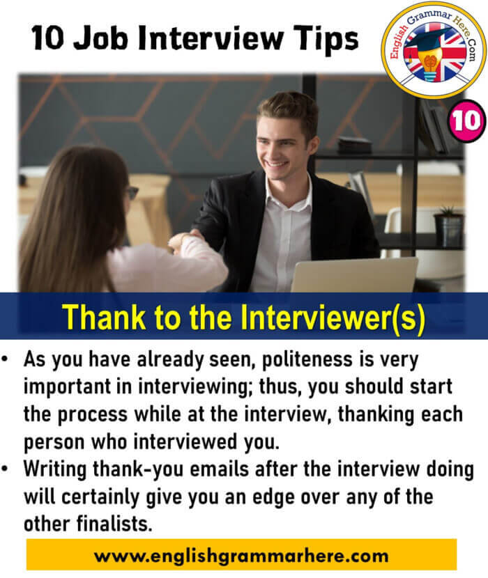 10 Job Interview Tips That Will Help You Get Hired