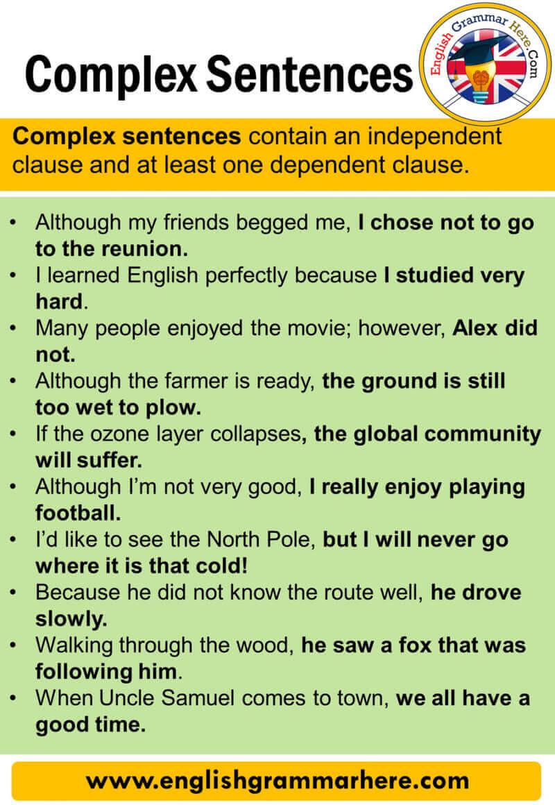 Definitely sentence